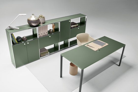 Mesh Office Desk by Piure | Individual desks