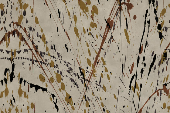 Action Painting Drip de GLAMORA | A medida