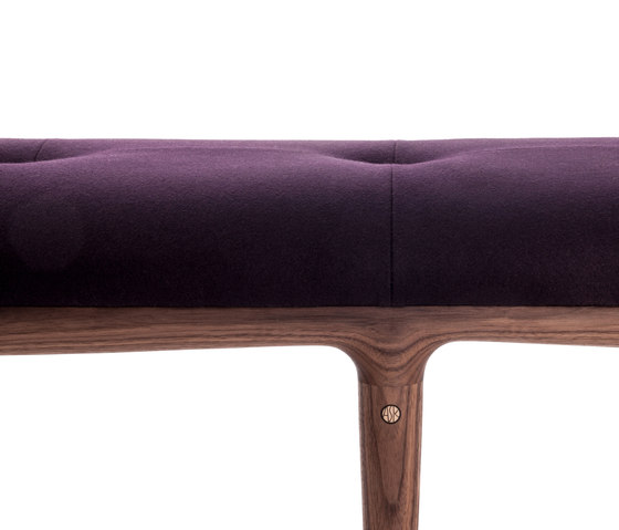 Dormo Bench by ASK-EMIL | Upholstered benches