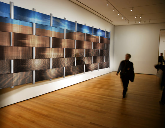 Weave Wall On Digital Imagery di Moz Designs | Lamiere metallo