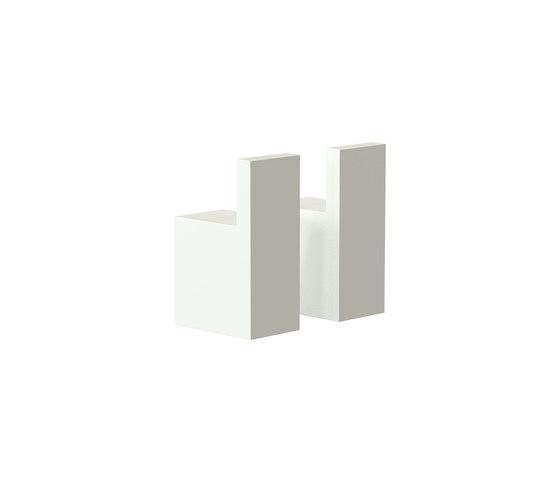 Quadra Hook 8 by Frost | Towel rails