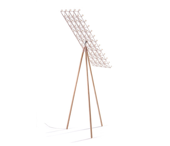 Space-Frame Floor Lamp by moooi | Free-standing lights