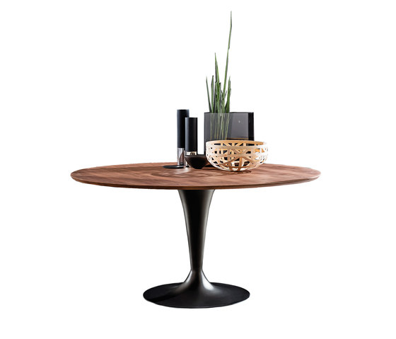 Flûte Wood Round by Sovet | Dining tables