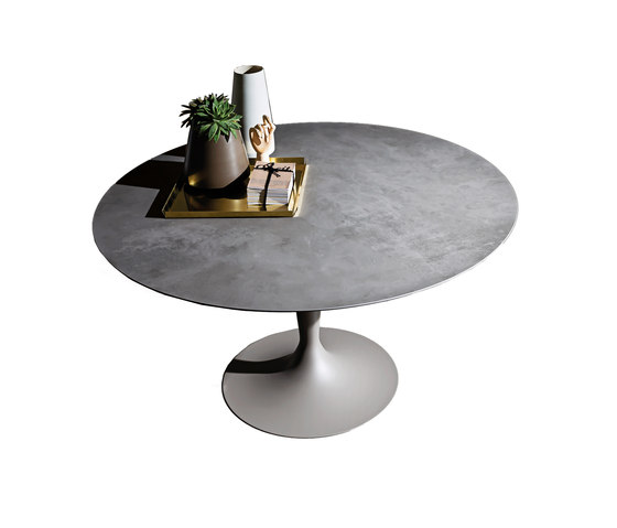 Flûte Round Ceramica by Sovet | Dining tables