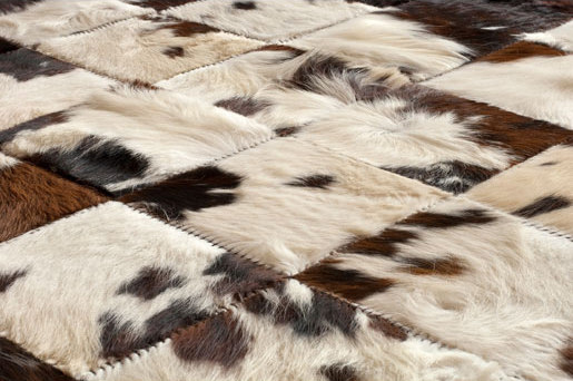 Leather Rugs | Constructed Haired Hide by Spinneybeck | Rugs