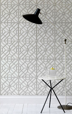 Maze Layered Tile by Spinneybeck | Leather tiles