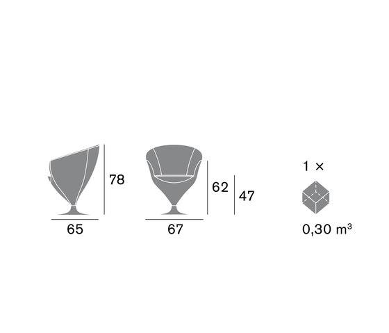 Feuss 1620 PO B02G de Cizeta | L'Abbate | Sillas