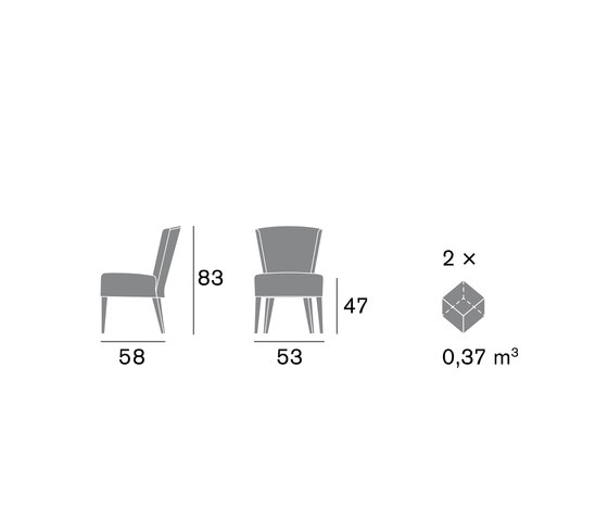 Frech 1220 SE von Cizeta | Besucherstühle