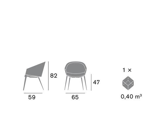 Gaba 1540 PO B92F by Cizeta | Chairs