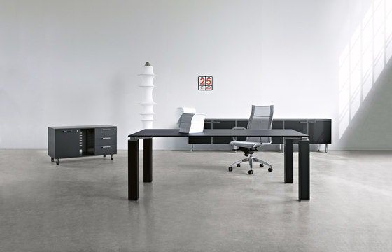 Tao Executive by Sinetica Industries | Individual desks