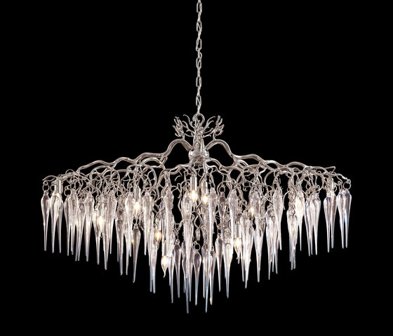 Hollywood icicles chandelier von Brand van Egmond | Deckenlüster