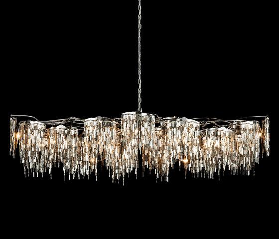 Arthur chandelier oval von Brand van Egmond | Kronleuchter