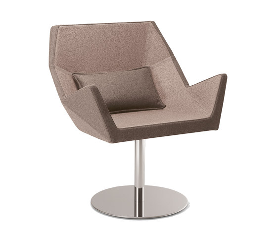 Prisma 1670 PO b01g by Cizeta | L'Abbate | Visitors chairs / Side chairs
