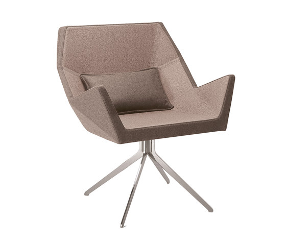 Prisma 1670 PO b14g by Cizeta | L'Abbate | Visitors chairs / Side chairs