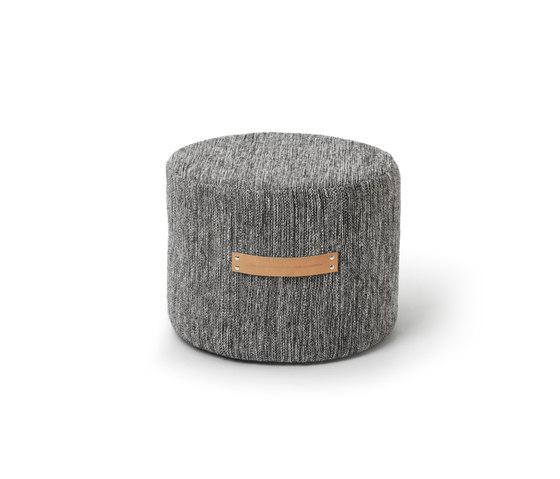Björk stool low von Design House Stockholm   Poufs / Polsterhocker