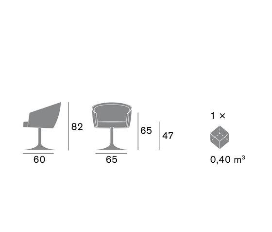 Sfer 1560 PO b02g von Cizeta | L'Abbate | Besucherstühle