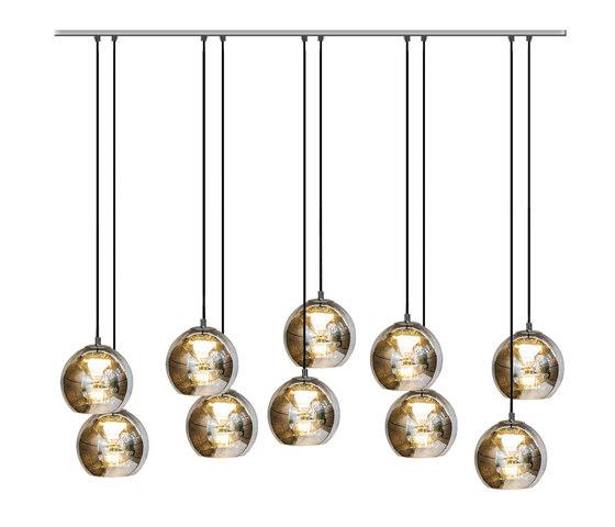 Kubric So - Cluster of 10 de Contardi Lighting | Suspensions
