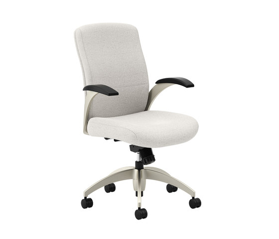 Aurora Desk - Mid Back by National Office Furniture | Management chairs