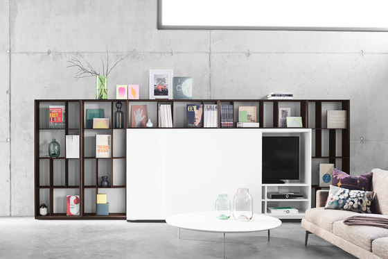 Alea Living 15.006.02 by Kettnaker | Wall storage systems