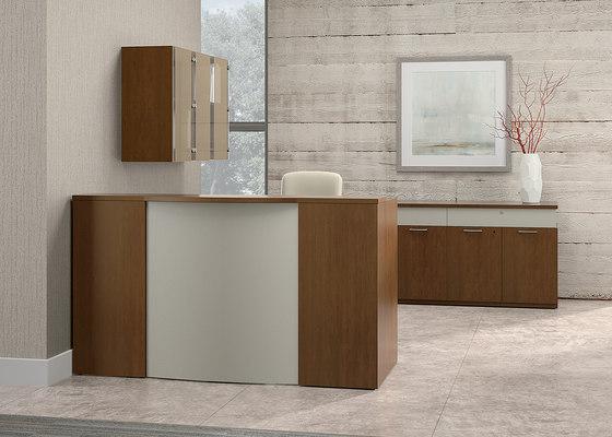 Casbah Desk de National Office Furniture | Mostradores