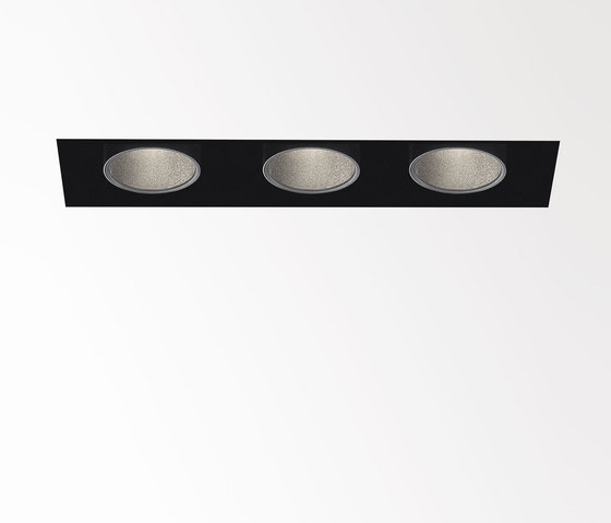 Splitbox 3 + 3 x Splitbox Spy 92718 by Delta Light | Recessed ceiling lights