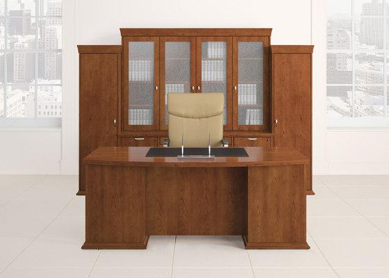 Escalade Desk di National Office Furniture | Scrivanie direzionali