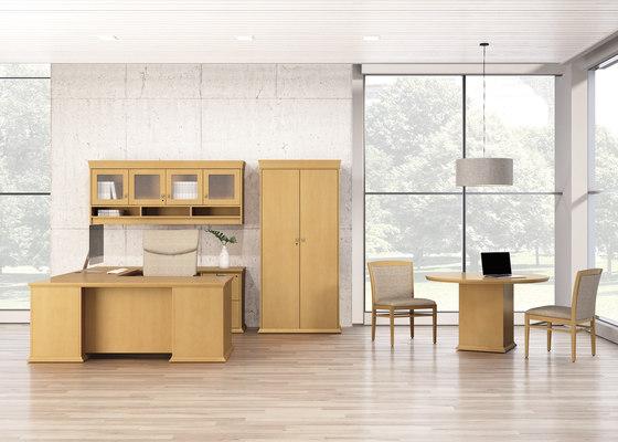 Escalade Desk di National Office Furniture | Scrivanie