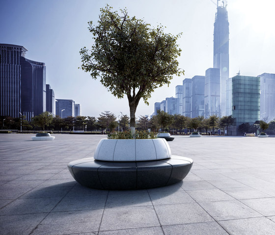 Olimpo Backrest Planter/Bench by Bellitalia | Benches