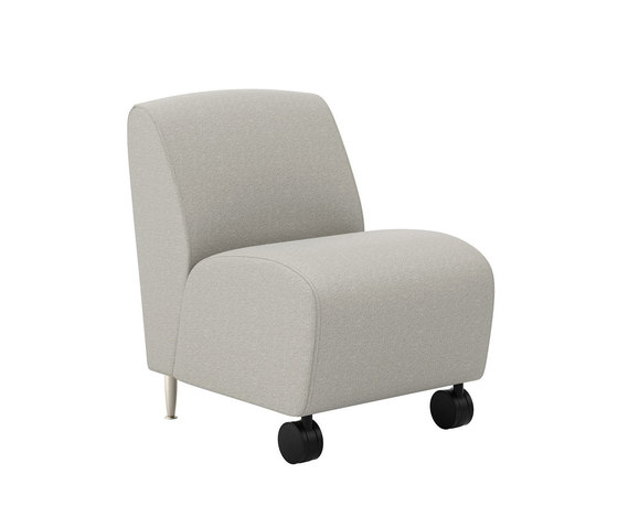 Reno One Seat Lounge Mobile Armless Fauteuils D 39 Attente