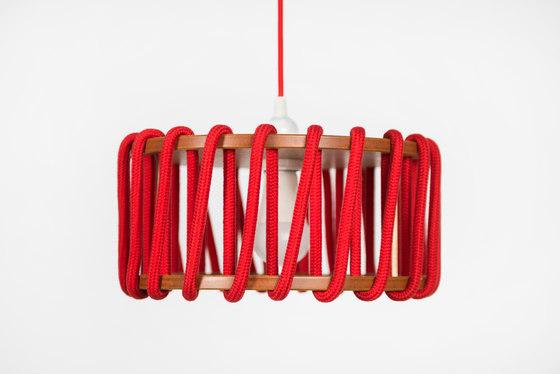 Macaron Suspension, rouge de EMKO | Suspensions
