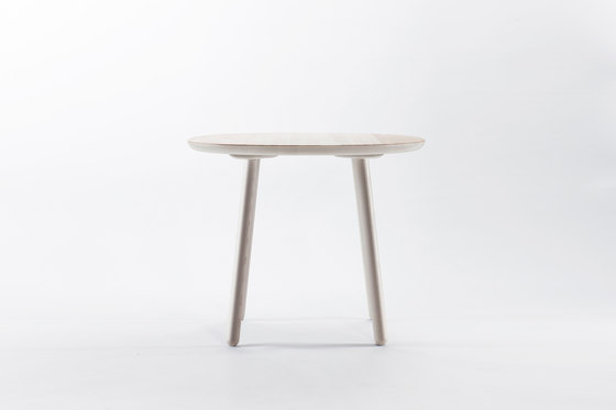 Naïve Dining Table, round, grey by EMKO | Dining tables