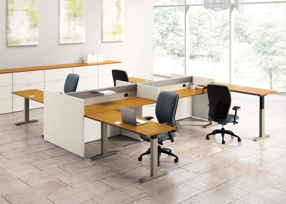 WaveWorks Desk von National Office Furniture | Objekttische