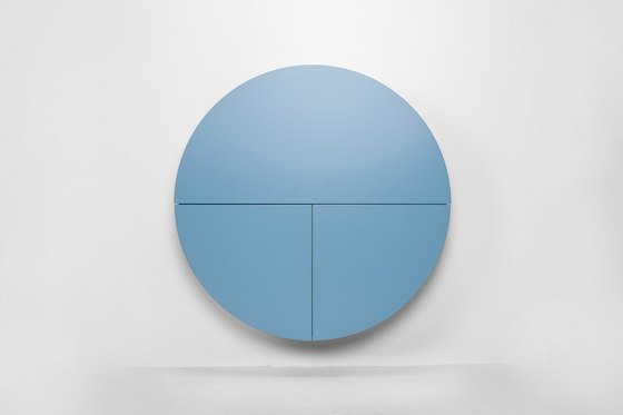 Pill  Multifunctional cabinet, black-blue by EMKO | Shelving