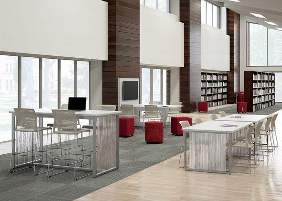 WaveWorks Table by National Office Furniture | Contract tables