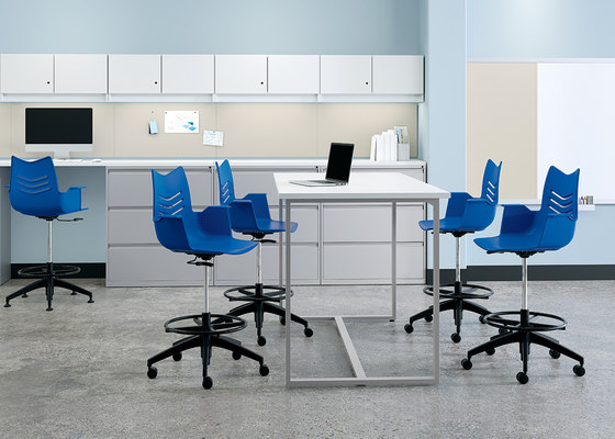 WaveWorks Table by National Office Furniture | Canteen tables