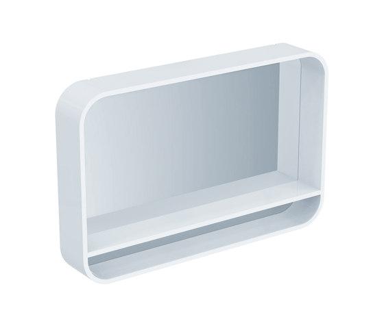 DEA Spiegel mit Rahmen und Licht 1000mm DEA - Mirror cabinets by Ideal ...
