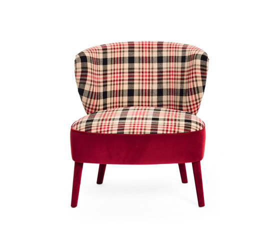 Cloè Armchair by black tie | Lounge chairs