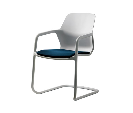Metrik by Wilkhahn | Visitors chairs / Side chairs