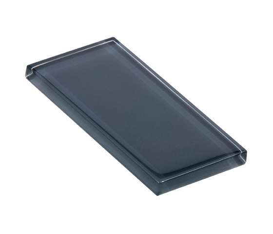 Glasstints | power grey glossy de Interstyle Ceramic & Glass | Carrelage en verre