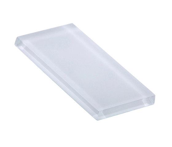 Glasstints | tropical white matte de Interstyle Ceramic & Glass | Carrelage en verre