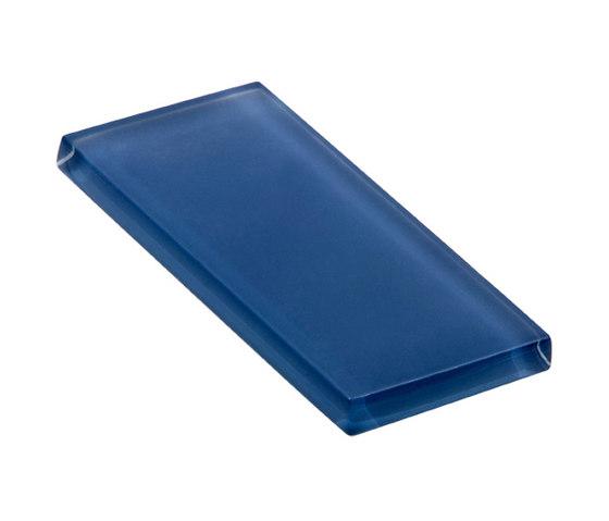 Glasstints | woad blue matte de Interstyle Ceramic & Glass | Carrelage en verre