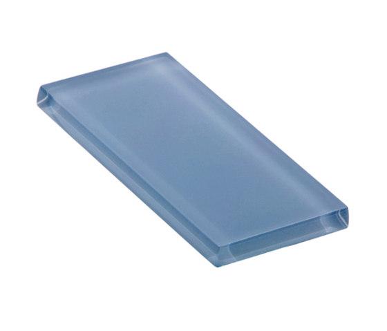 Glasstints | stormy blue matte by Interstyle Ceramic & Glass | Glass tiles