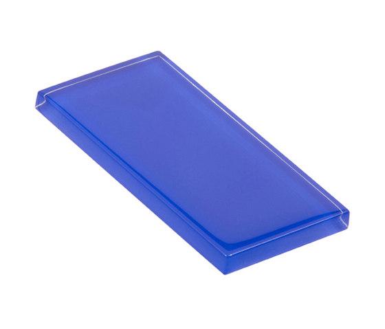 Glasstints | gem blue glossy di Interstyle Ceramic & Glass | Piastrelle vetro