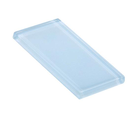 Glasstints | alice blue glossy di Interstyle Ceramic & Glass | Piastrelle vetro