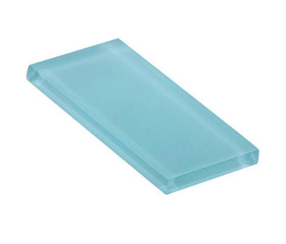 Glasstints | faint aqua matte de Interstyle Ceramic & Glass | Carrelage en verre