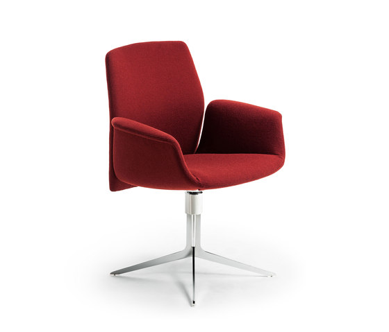 Downtown Swivel Conference by Poltrona Frau | Chairs