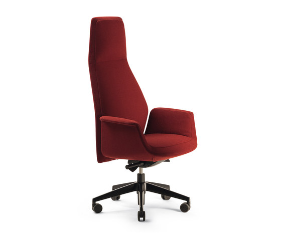 Downtown President by Poltrona Frau | Office chairs