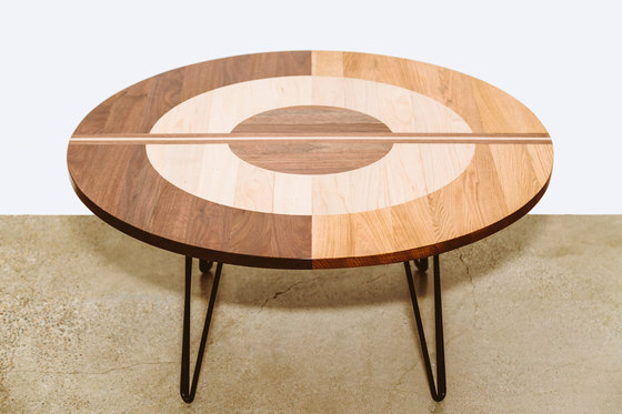 The Concentric Table di Bellwether Furniture | Tavolini da salotto