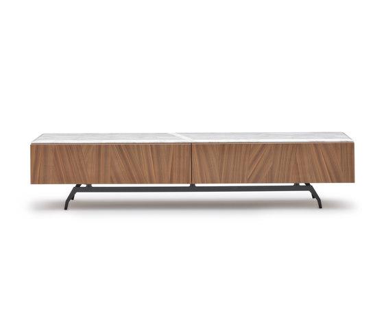 Allen TV Stand de Alberta Pacific Furniture | Multimedia sideboards