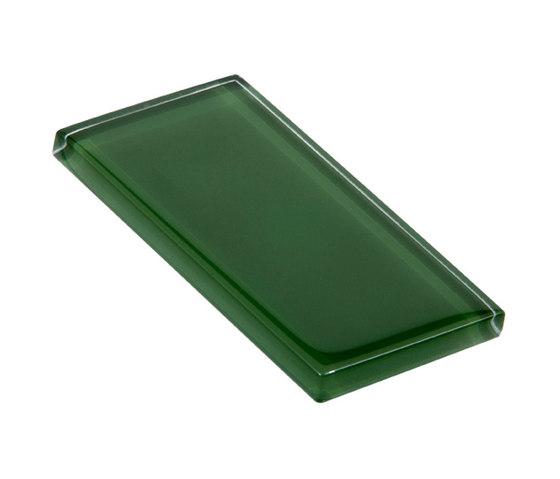 Glasstints | gamblers green glossy de Interstyle Ceramic & Glass | Carrelage en verre